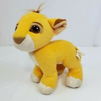 Vintage Mattel 1993 Disney Authentic The Lion King Simba Cub Baby Plush