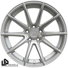 UP100 19x9.5 5x120 Silver Machined Face ET22 Wheels FITS BMW 1M COUPE 528 SEDAN