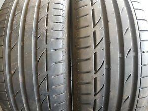 2X 225/45/19 92 W 6mm Bridgestone Potenza S001 RFT (AB27P)