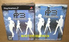 PS2 Shin Megami Tensei Persona 3 FES Limited Collector's Edition New + Guide
