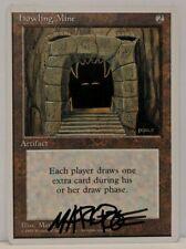 MTG Magic Signed (Mark Poole) Artist Proof Howling Mine - 4th Edition