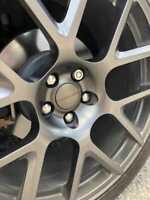 OEM GREY Wheel Center Caps Set for Dodge Challenger Charger Magnum Journey