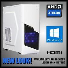 Gaming Computer Desktop PC Tower 8GB Memory 2TB Hard Drive HDMI Windows 10