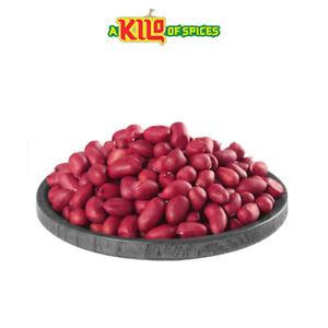 Redskin Peanuts Whole Raw Red (Jugu) FREE UK P&P 100g - 10kg