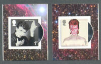 Great Britain-David Bowie mnh set of 2 self-adhesives-stamps 2017