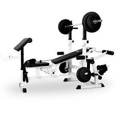 Klarfit Profi Hantelbank Kraftstation Trainingsbank Fitness Multi Gym Station