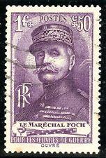 STAMP / TIMBRE DE FRANCE OBLITERE N° 455 FERDINAND FOCH