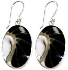 Ohrschmuck Paar Ohrhänger, Perlmutt/Muschel   Silber,   L= 2,8 cm  Naturschmuck