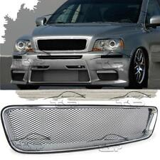 FRONT CHROME GRILL FOR VOLVO XC90 02-10 SPORT NO EMBLEM SPOILER BODY KIT NEW