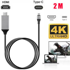 More details for usb-c type c to 4k hdmi hdtv adapter cable for samsung phone macbook pro