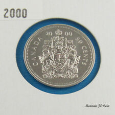 2000  Canada 50 Cent Specimen From Set