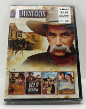 SAM ELLIOTT 4 WESTERN FILM DVD, WILD WOMEN/I WILL FIGHT/PIONEERS/JOSHUA CABE