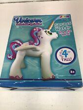 Joyin Inflatable Unicorn Yard Sprinkler, Alicorn/ Pegasus Lawn Sprinkler for 4