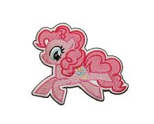 My Little Pony MLP Pinkie Pie Patch Pinkamena G4 Embroidered Iron On Applique