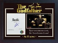 Al Pacino film The Godfather signed autograph picture Movie Michael Corleone A