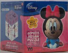 New listing 3D Sphere Puzzle Big Face Mini Disney 60 Large Piece Minnie Mouse Nib Sealed