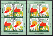 ROMANIA 2012 Europa CEPT, Birds, Vögel, used, gestempelt