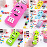 Pour iPhone iPod Cartoon SAMSUNG GALAXY 3D SILICONE MOBILES COQUE ETUIS HOUSSE