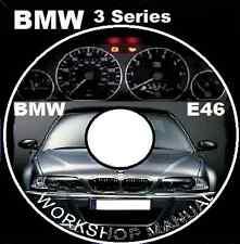 BMW E46 323i 325i 325xi 328i 330i 330xi M3 3 Series workshop repair manual
