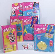 Vintage Barbie Funwear Fashions, Cool Mix Fashions, & Play'N Display Doll Stands