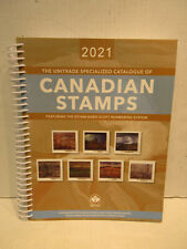 2021 Unitrade Specialized Catalogue of Canadian STAMPS Scott Numbering System