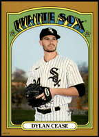 Dylan Cease 2021 Topps Heritage 5x7 Gold #462 SP /10 White Sox