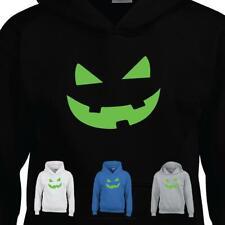 Pumpkin Big Halloween Teeth Smiley Scary Party Kids Mens Hoodie Gift TEE Dress