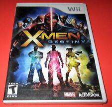 X-Men: Destiny Nintendo Wii *Factory Sealed! *Free Shipping!