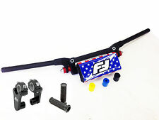 "Fasst Flexx Flex 10 Degree Enduro High Handlebar USA Pad + Rox 2"" Riser Fast"