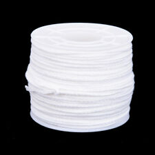 61m x 2.5mm Spool of Cotton Square Braid Candle Wicks Core For Candle Making`Us
