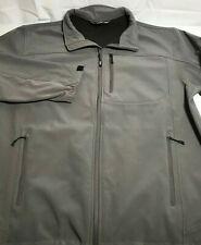 Gander Mountain Guide Series Men's Soft Shell Rain Jacket Size XL Grey
