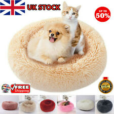 Comfy Calming Dog/Cat Bed Round Super Soft Plush Pet Bed Marshmallow Cat Bed HOT