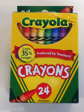 Crayola Crayons Each Contains 24 Crayons-Set Of 2 Boxes
