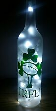 IRFU Ireland rugby badge bottle lamp