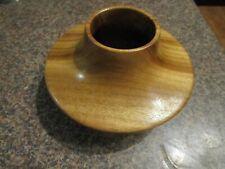 Turned wooden vessel, Camphor Laurel.