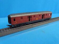 Marklin SJ 4021 Express Train Bagage Car Brown Tin Plate 2