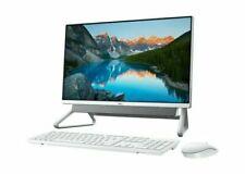 Dell Inspiron 5400 23.8 in (256GB SSD, Intel Core i3 11th Gen., 4.10 GHz, 8GB) All-in-One PC - Silver - hdi540003au