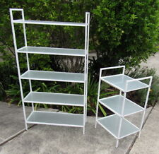 Glass Shelving Stands (2)