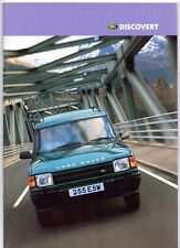 Land Rover Discovery 1997-98 UK Market Sales Brochure XS GS ES 2.5 Tdi 3.9 V8