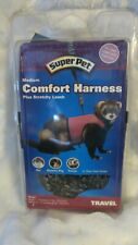 SuperPet Medium Comfort Harness (Rat, Guinea Pig, Ferret) Green with Stretchy Le