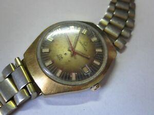 CERTINA Club 2000  Vintage Armbanduhr Kal. Certina 25-021 Swiss Made DEFEKT DBGM