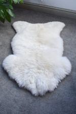 Sheepskin Lambskin Rug Rugs Real Wool Creamy White Lamb Skin Sheep