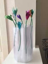 Plastic Foldable Flower Vase - Package of 10 - Great Deal!