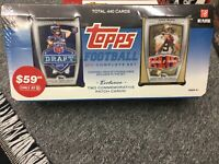 ** 2010 Topps Football Card Complete Unopened Factory Set w Brees & Tebow Patchs