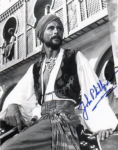 OFFICIAL WEBSITE John Phillip Law SINBAD 8x10 AUTOGRAPH Signed Photo Glossy