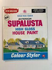 Vintage Australia British Paint Catalogue Colour chart 1968