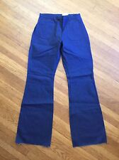 Nwt Seafarer Bell Bottom High Rise Jeans Vtg 20L unfinished hem midshipmen Usn