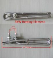 "Spa hot tub Heating Element 3000W Flo Thru 3KW 240V 10"" gecko balboa M7 heater"