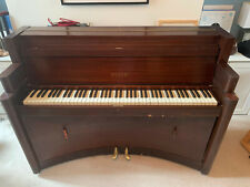 More details for steck / aeolian 1930s rare art deco upright piano