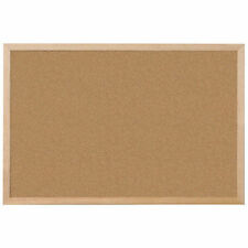 Large Cork Notice Board 900 X 600 Mm Pin Board Corkboard Memo Frame Office
